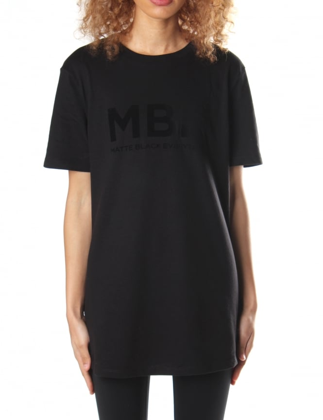 Matte Black Everythin Unisex Original MBE Longline Tee