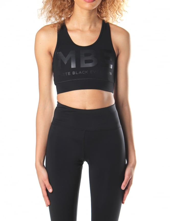 Matte Black Everythin Women's Original MBE Sports Bra