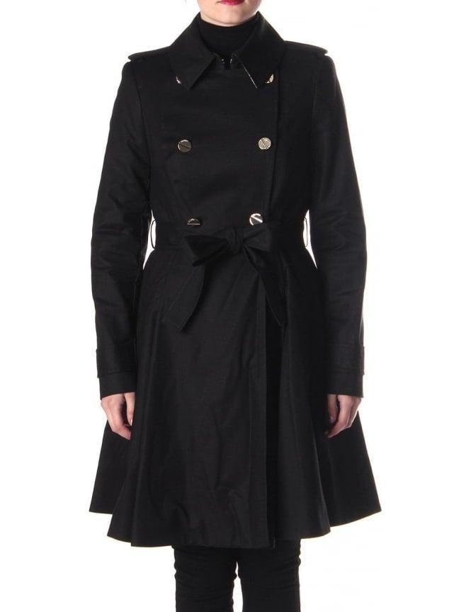 Ted Baker Mckenzie Women's Trench Coat Black