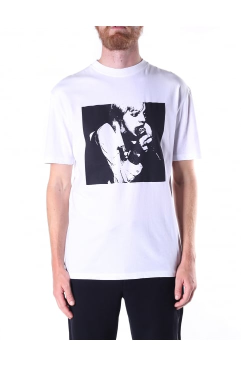Dropped Shoulder Men's Band Tee