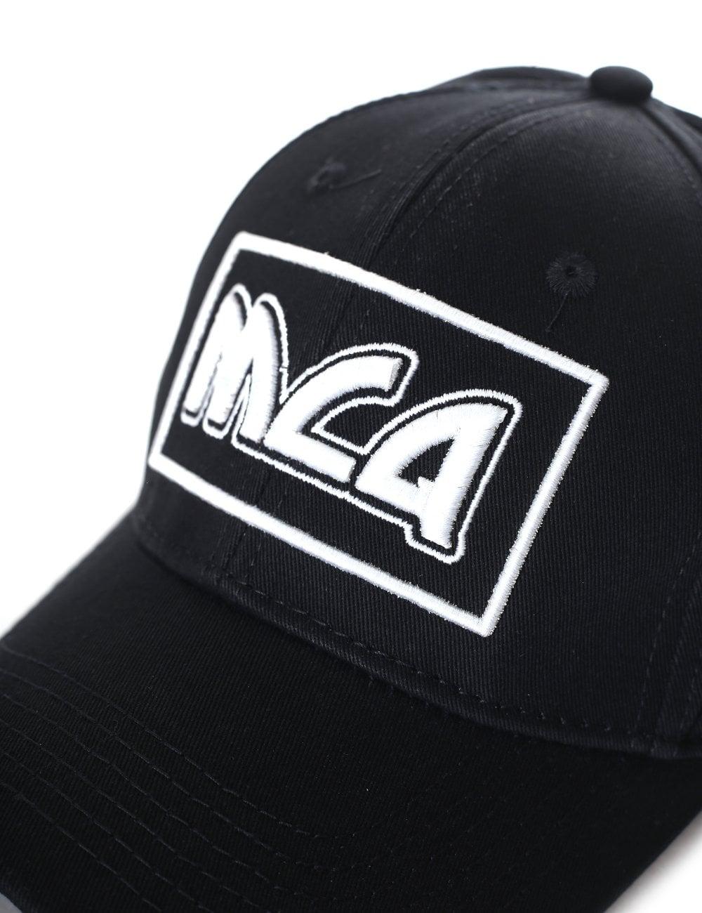 4427f4020b2bc Men s MCQ Metal Inspired Logo Baseball Cap