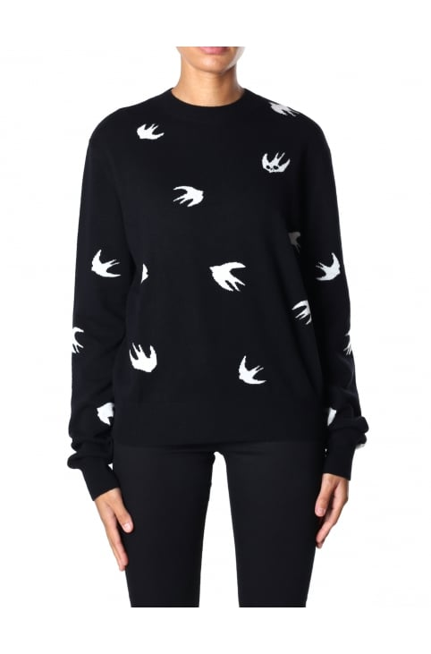 Women's Crew Neck Swallow Sweat Top