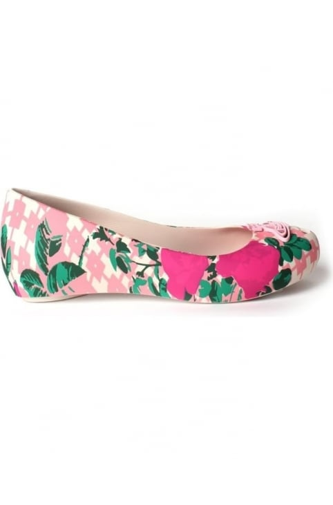 Ultra Orb Women's Floral Slip On Shoe Pink