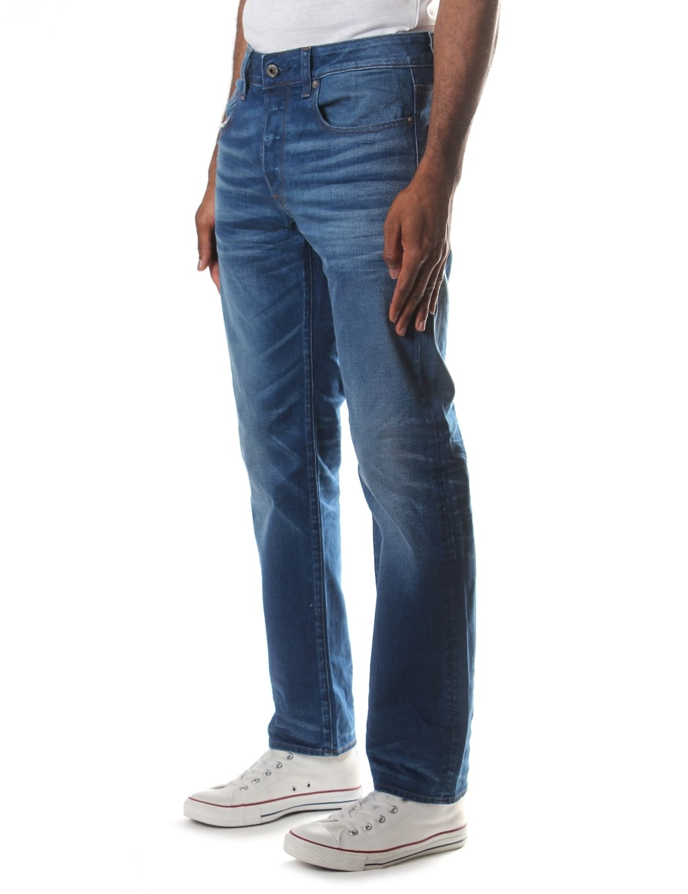 G-Star Raw Mens 3301 Itano Denim Straight Jean
