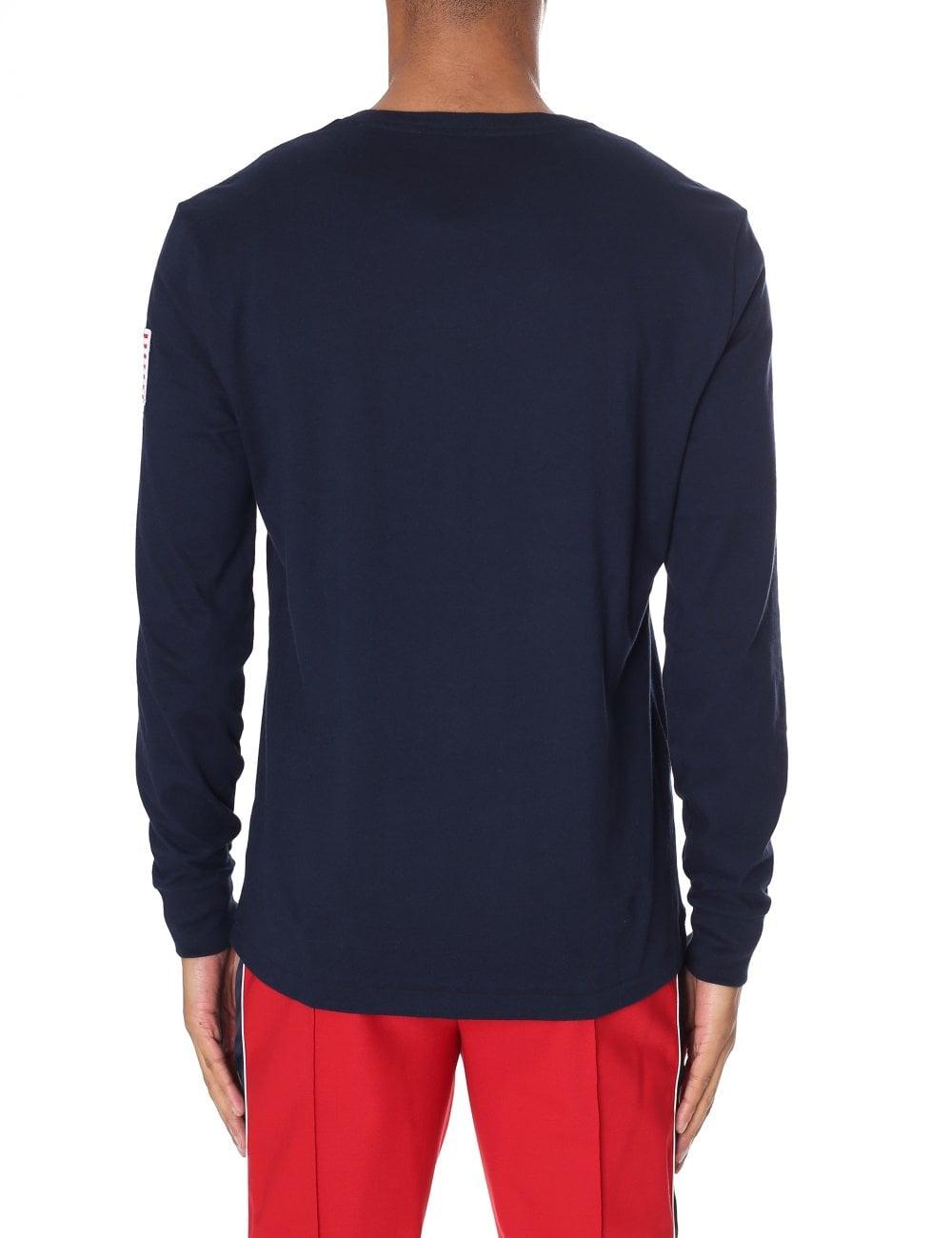 60f0d3336295 Polo Ralph Lauren Men's Custom Slim Fit Long Sleeve Tee