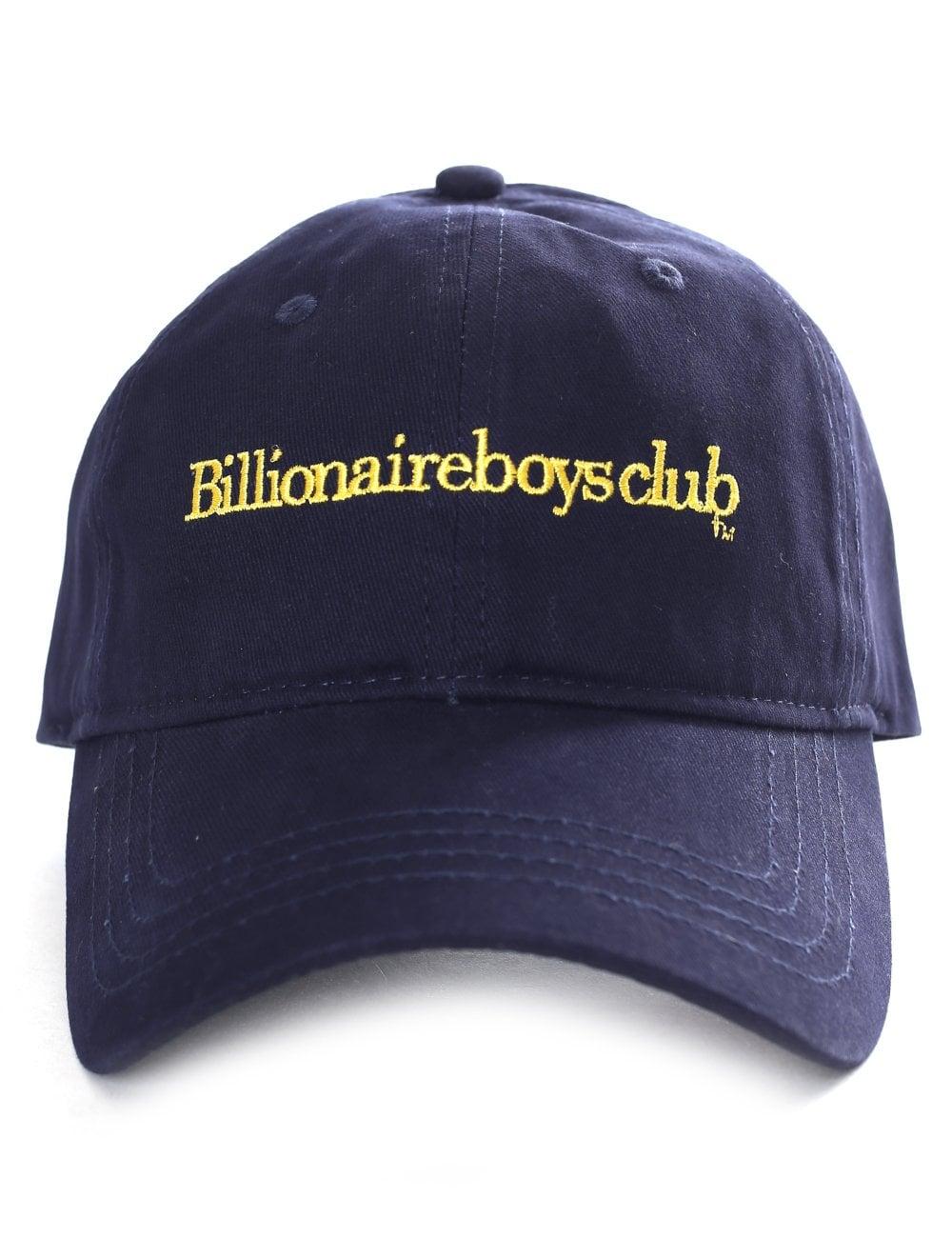 2d7095361 Billionaire Boys Club Men's Embroidered Curved Visor Cap