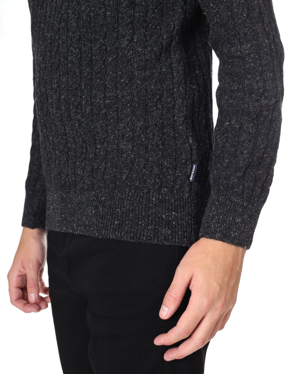 luxury diversified latest designs most popular Barbour Men's Essential Cable Knit Jumper