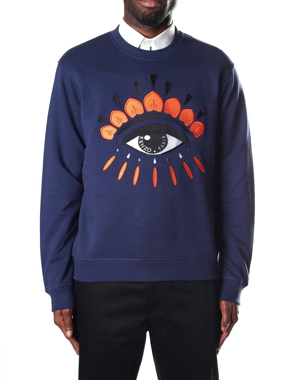 Men's Sweatshirt Eye Kenzo Men's Kenzo ZiPuXk