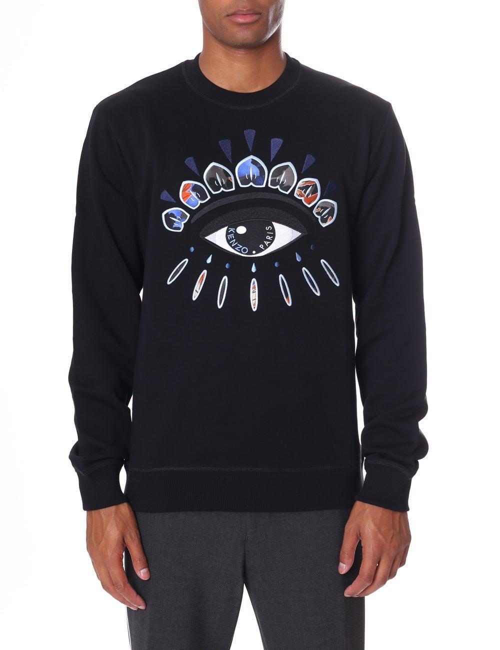 0de4b764387a Kenzo Men's Indonesian Flow Eye Sweatshirt