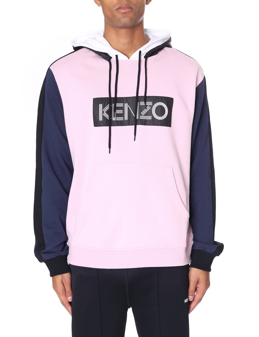 eaa16840 Men's Kenzo Logo Colour Block Sweatshirt