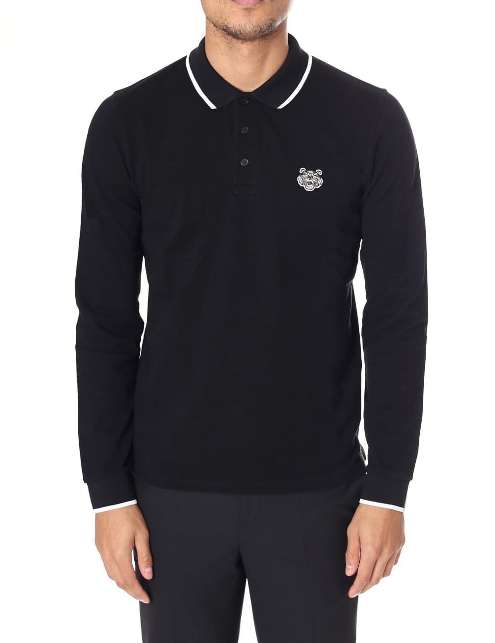5046c34ef1 Kenzo Men's Long Sleeve Polo