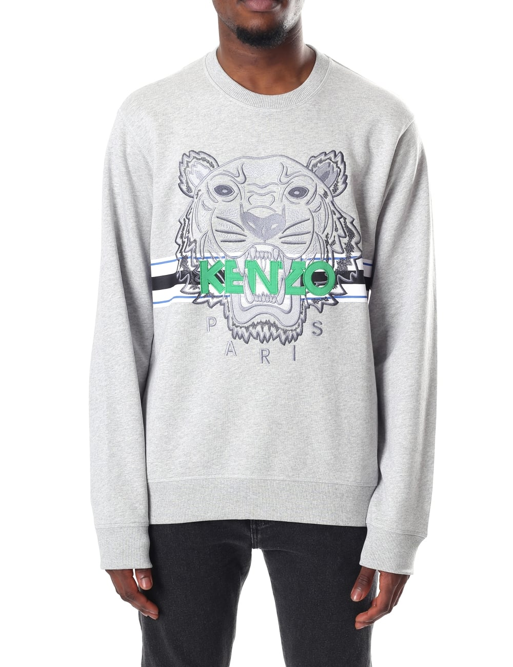 378537aa16d Kenzo Men's Long Sleeve Sport Tiger Sweatshirt