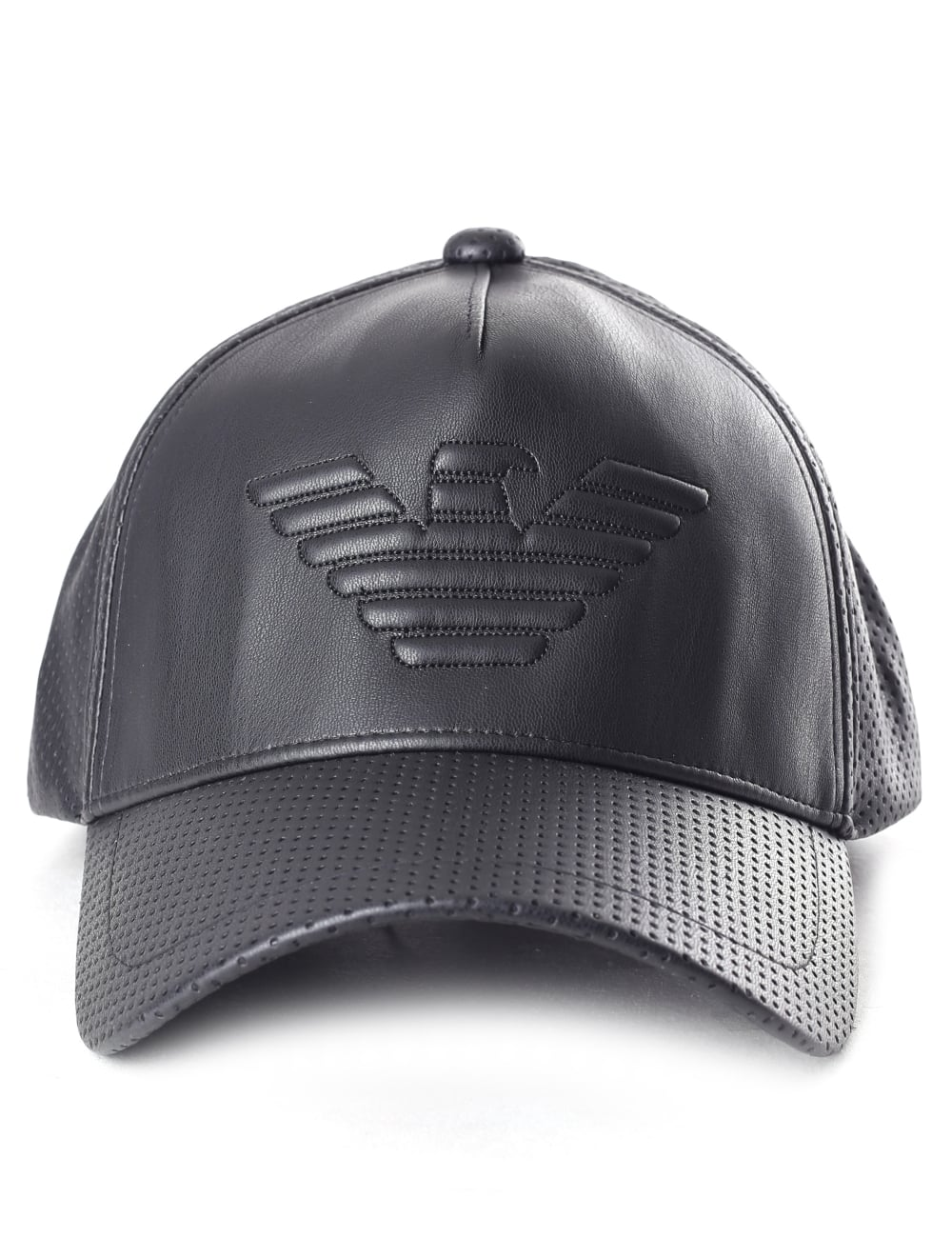 9d84e8c4 Emporio Armani Men's Perforated Logo Baseball Cap