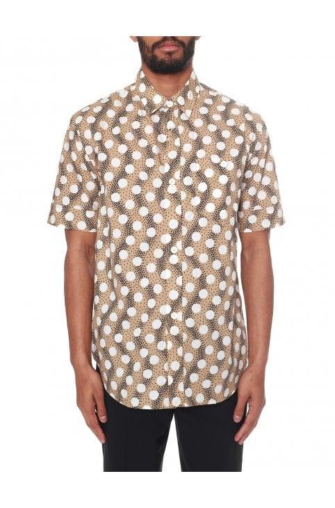 d24fddcfe2 Men's Polka Dot Slim-Fit Shirt · Kenzo ...