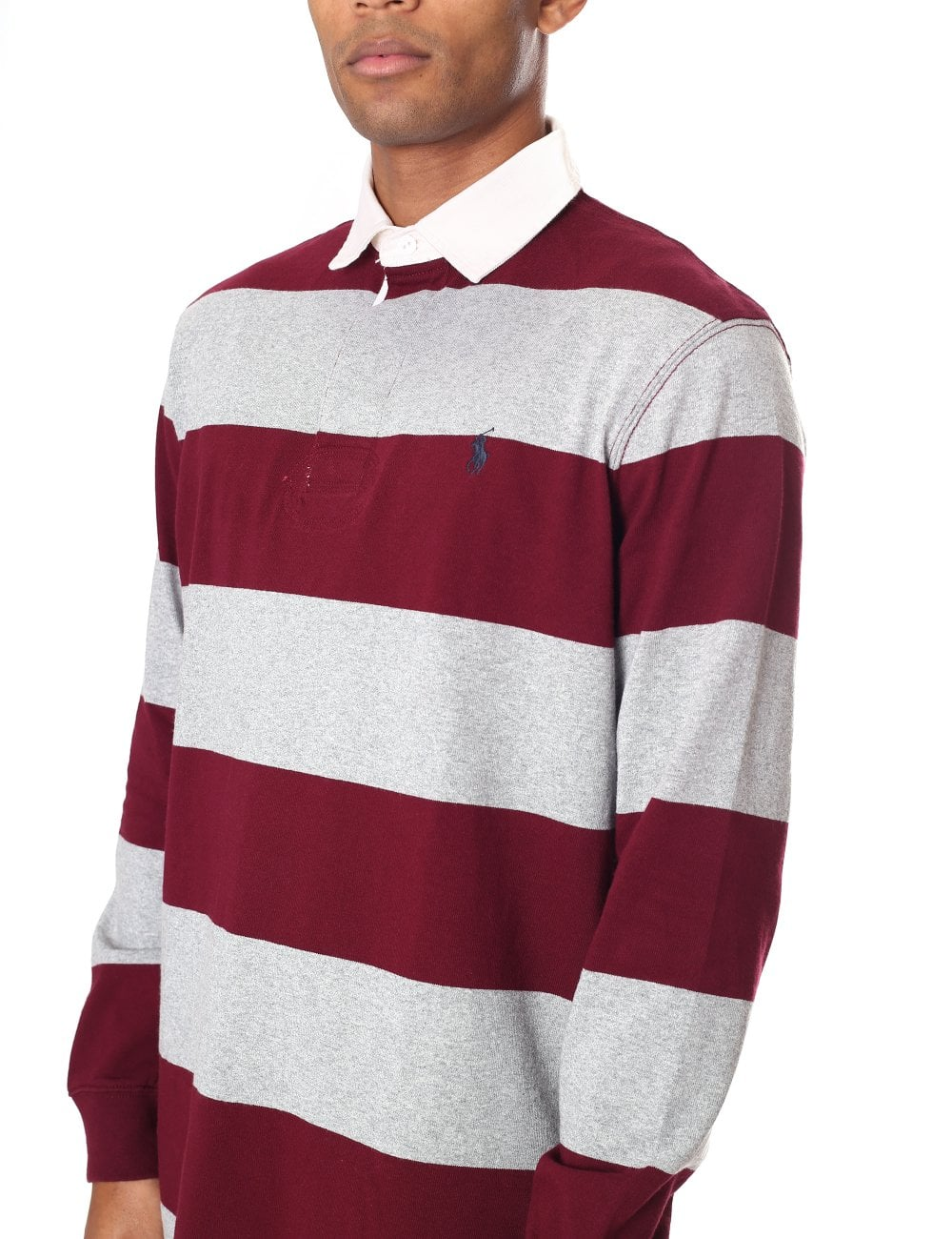 Polo Ralph Lauren Rugby Style Long Sleeve Polo Top