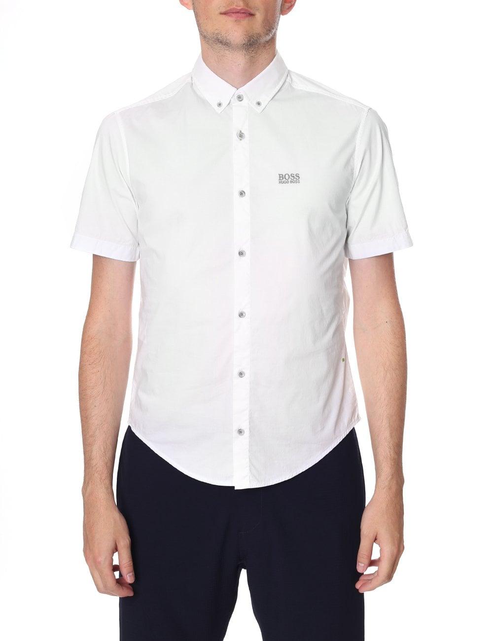 fdb8c5f2e Boss Green Men's Regular Fit Short Sleeve Shirt