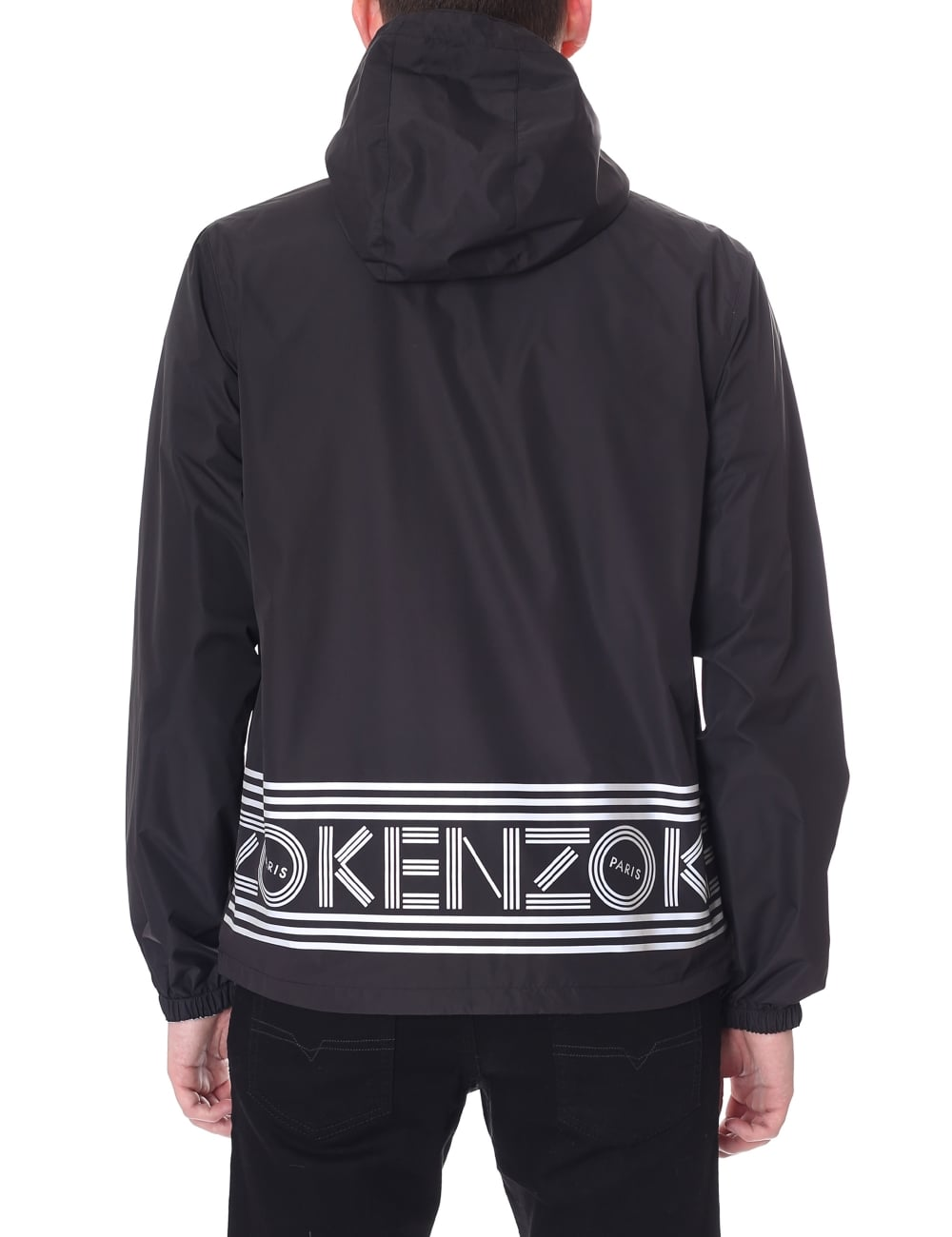 43e23789 Kenzo Men's Reversible Hooded Windbreaker
