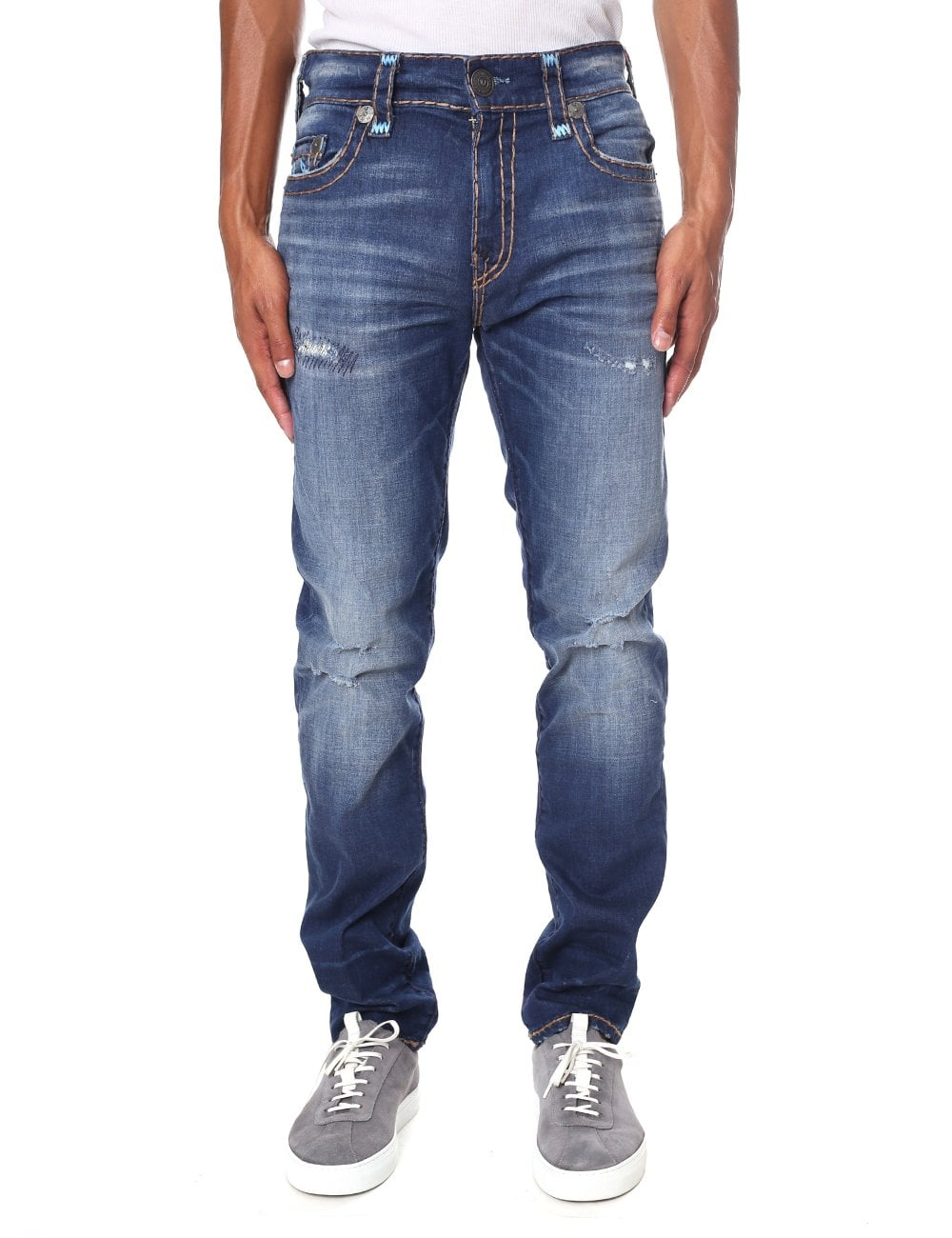 3e03c59d9 True Religion Men s Rocco Relaxed Skinny Jean