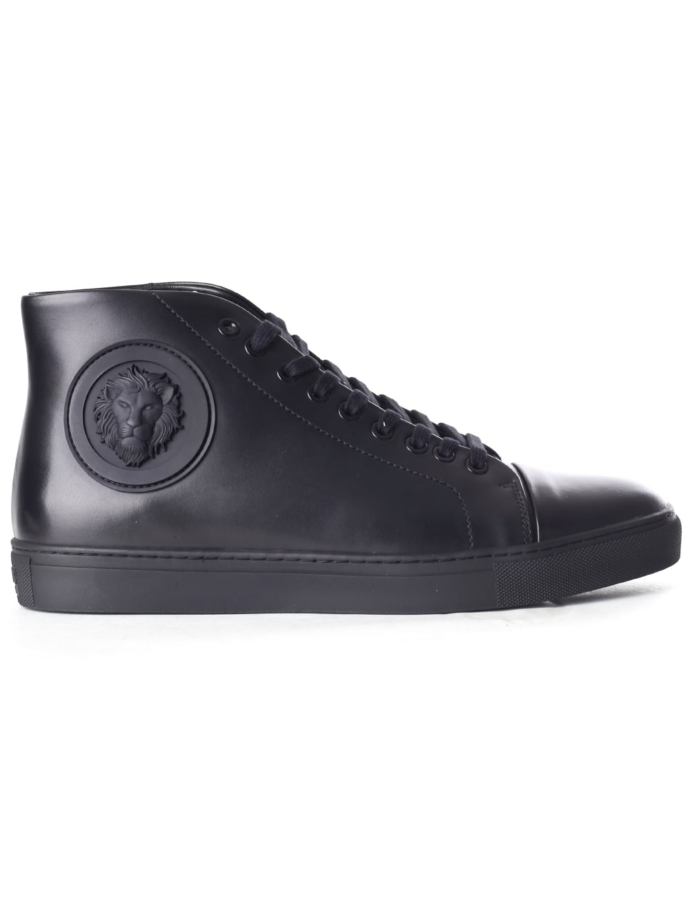 Versus Versace Men's Scarpa Sport Lion Head Hi Top Trainer
