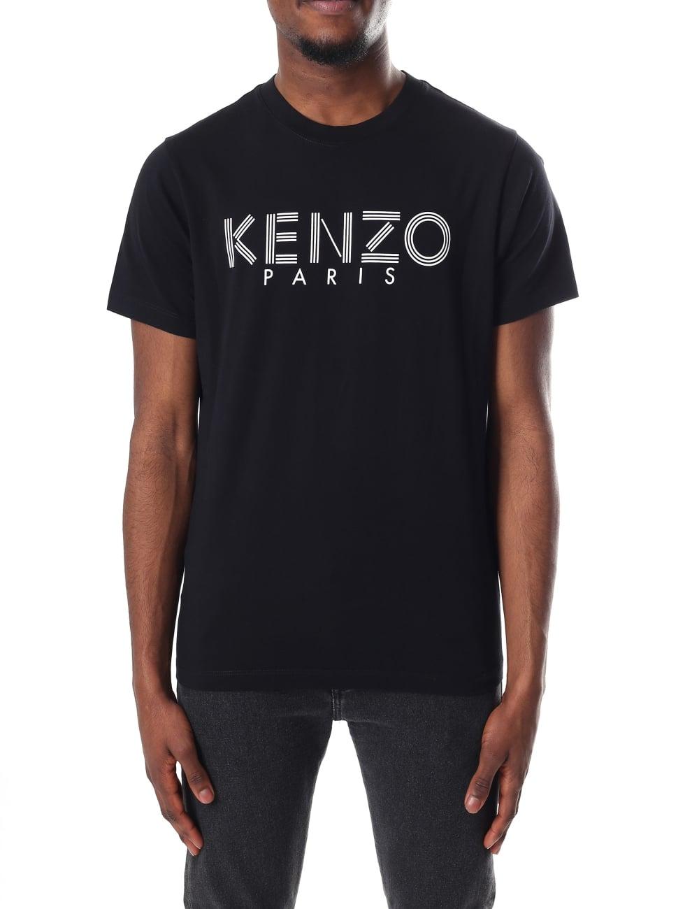 cde93cd50 Kenzo Men's Short Sleeve Paris T-Shirt