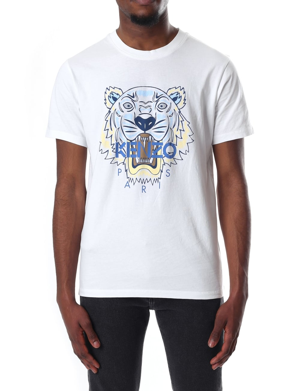 6c23f3c34872 Kenzo Men's Short Sleeve Tiger T-Shirt