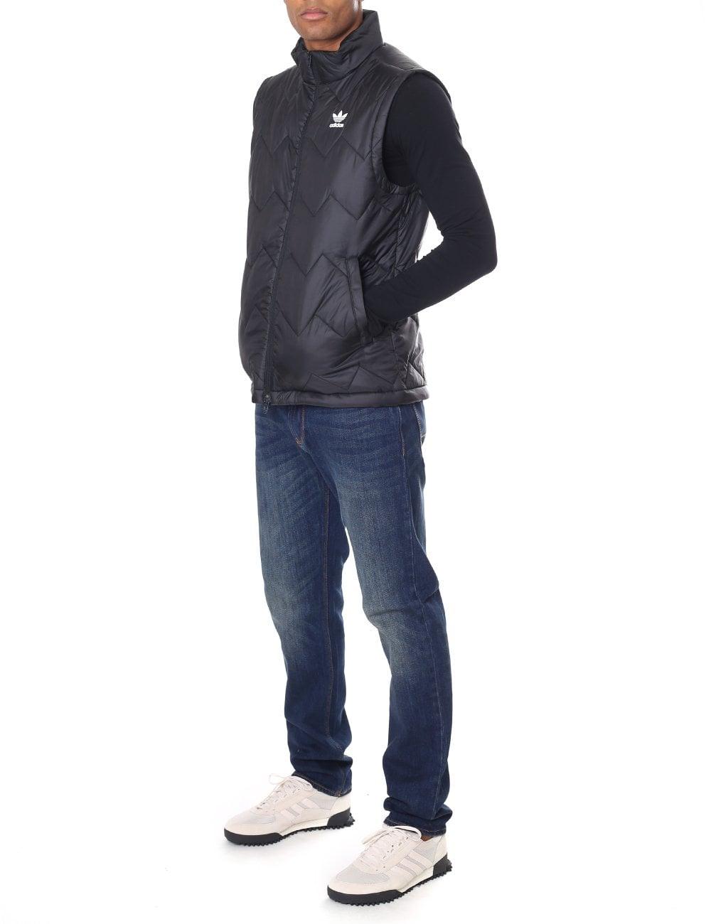 adidas SST Puffy Weste Blau | adidas Deutschland