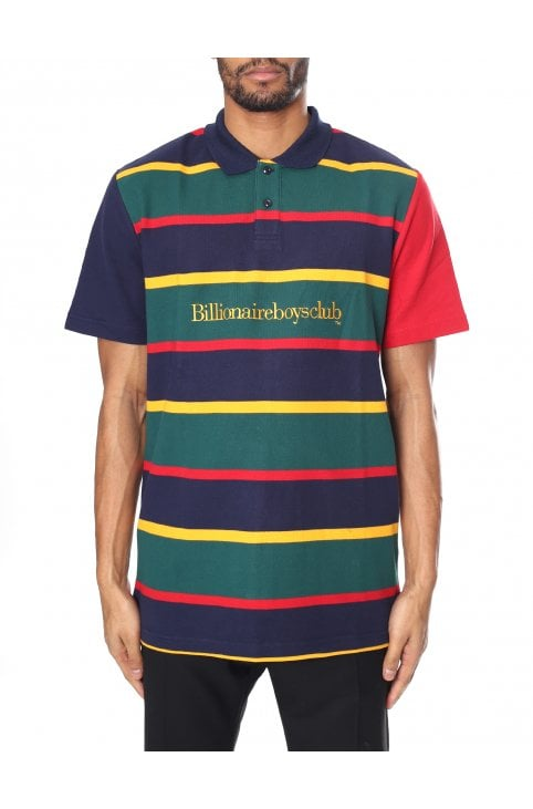 1ae3dec6d Men's Stripe Pique Polo · Billionaire Boys Club ...