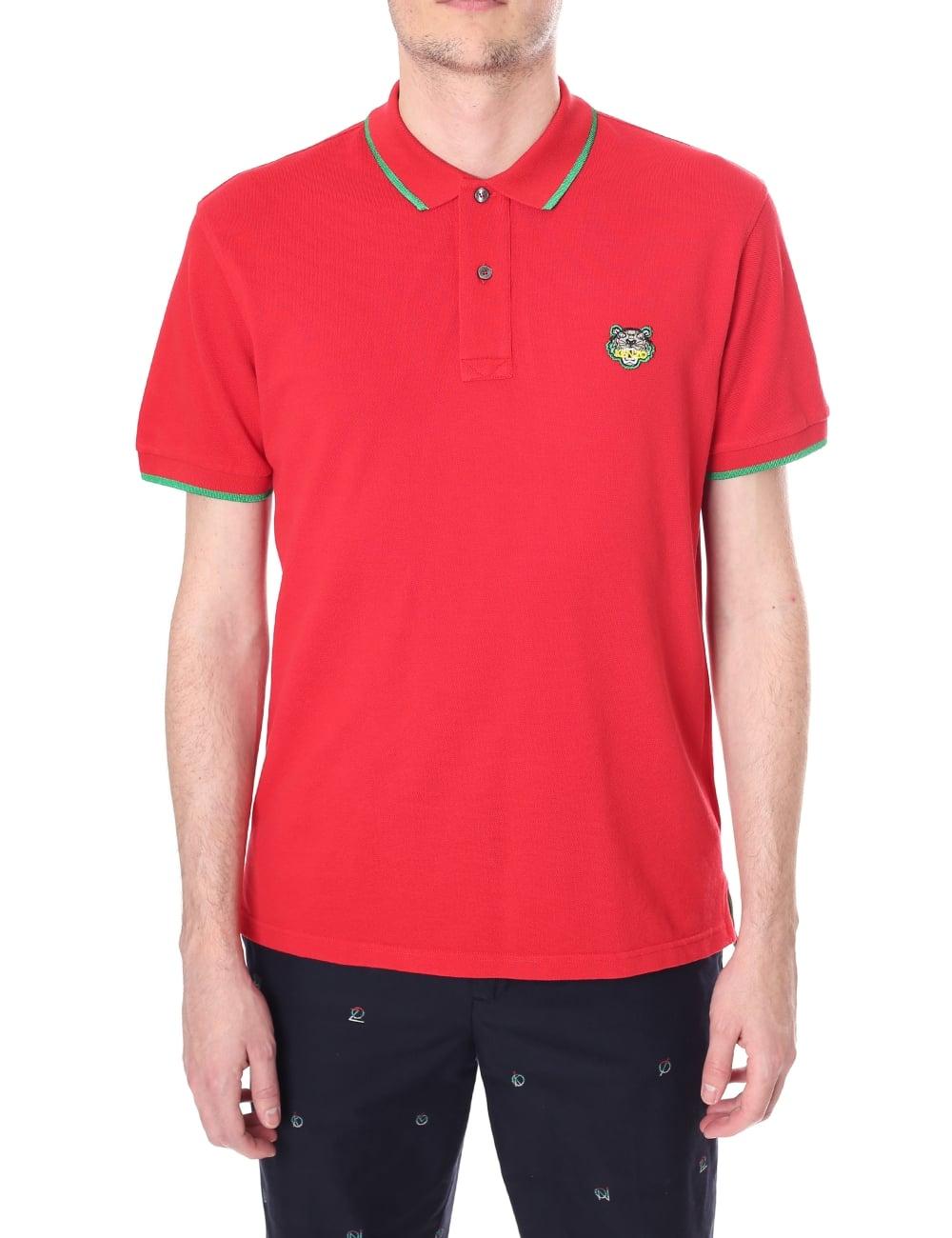 cb10ce64d14 Kenzo Men's Tiger Polo Shirt