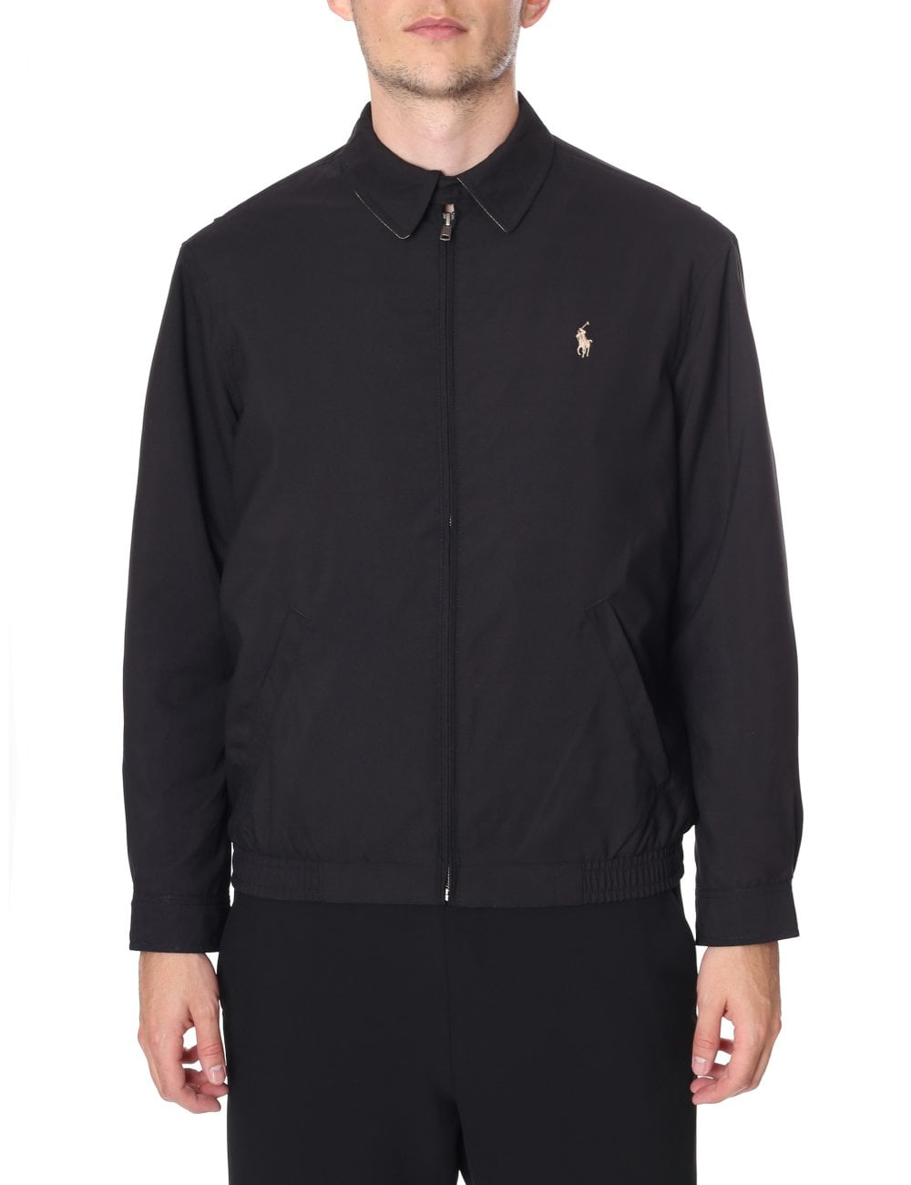 hot-selling clearance attractive & durable search for latest Polo Ralph Lauren Men's Zip Through Harrington Jacket