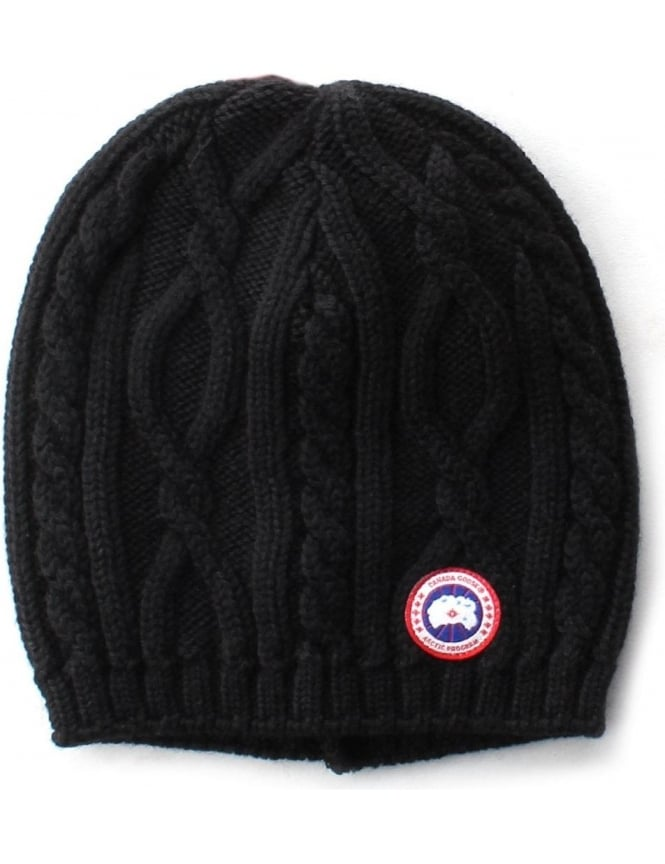 Canada Goose Merino Cable Women S Knit Beanie