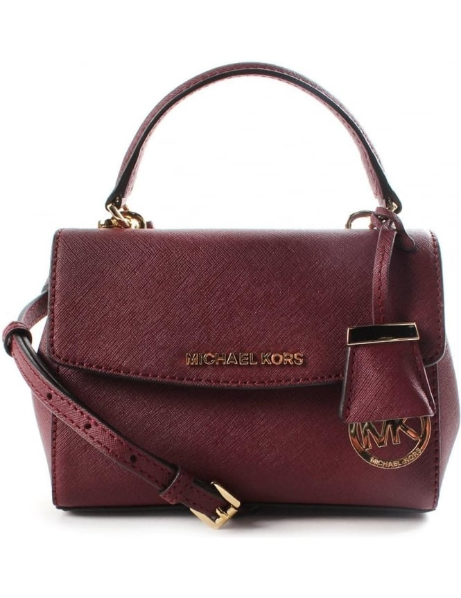 Michael Kors Ava XS Crossbody Women s Bag Merlot 18ea920d4abac