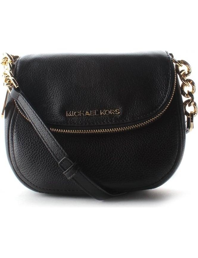 ce24c61409e8 Michael Kors Bedford Flap Crossbody Women s Bag Black