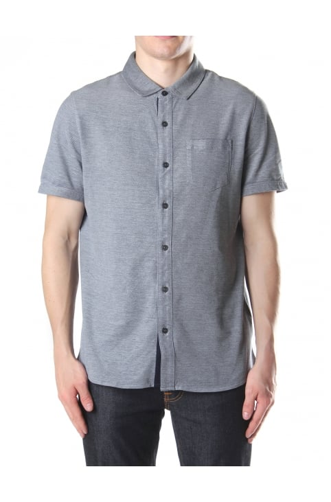 Birdseye Short Sleeve Men's Shirt
