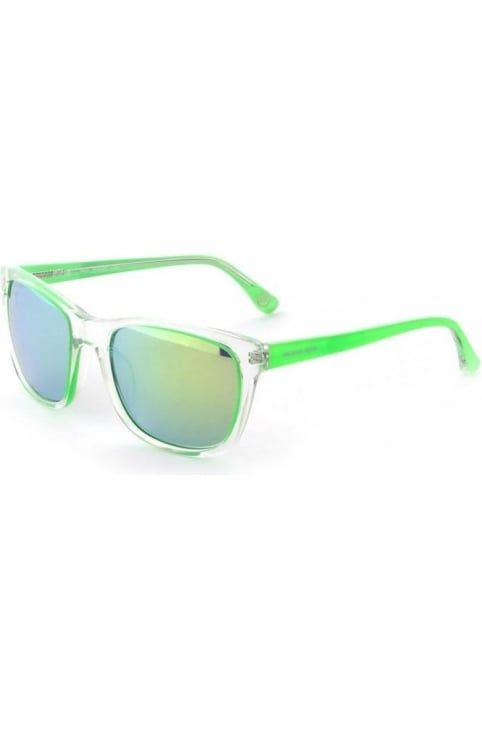Colour Lens Women's Sunglasses Green