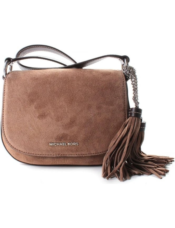 Michael Kors Elyse Women's Saddle Bag Dune