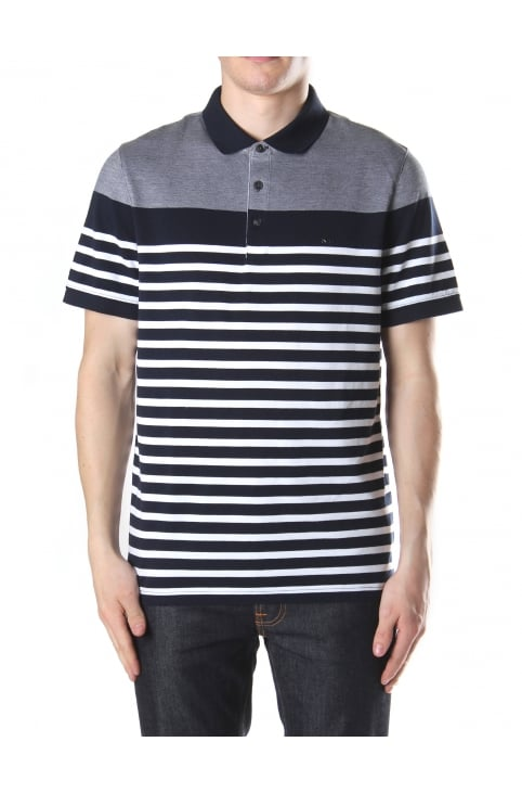 England Stripe Men's Polo Top