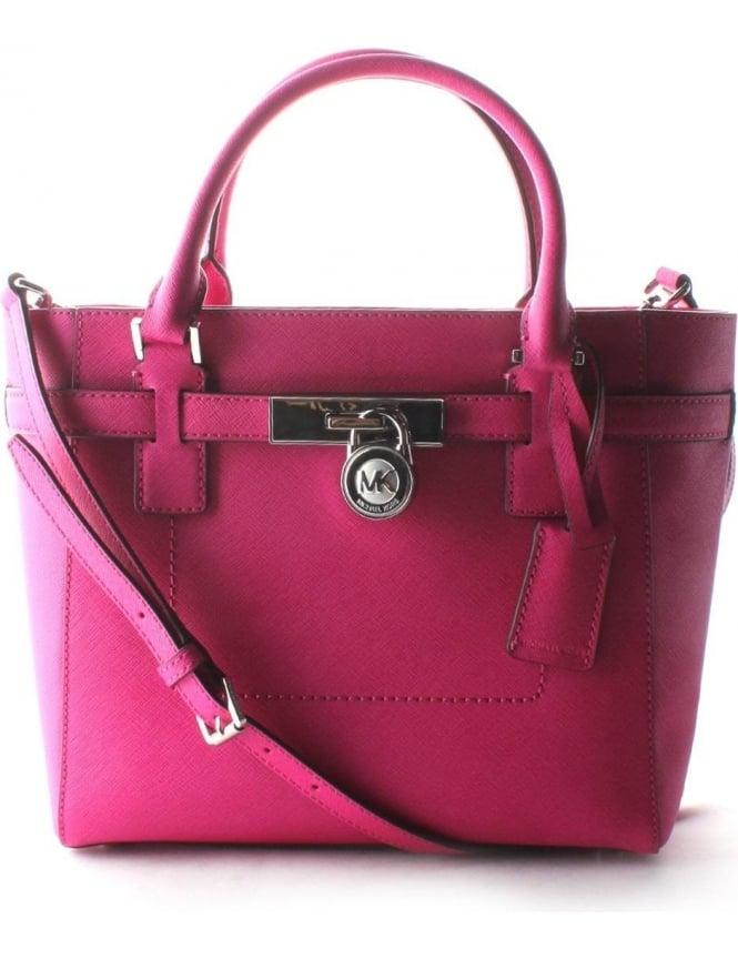 a7d8134f158f Michael Kors Hamilton Women s Medium Tote Bag Raspberry