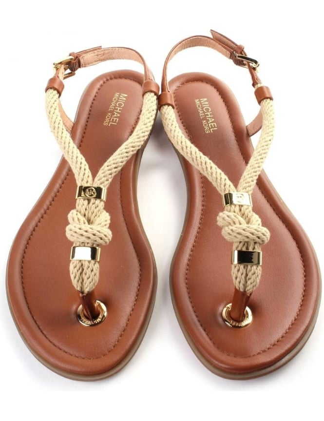 82d5b31362a4 Michael Kors Holly Women s Sandal Brown