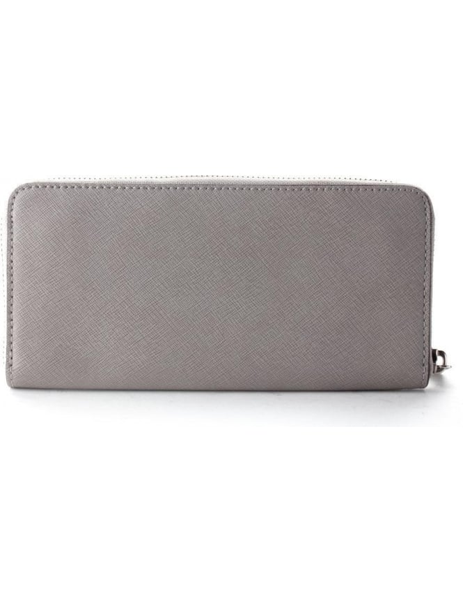 ffa892807151 Michael Kors Jet Set Women s ZA Continental Purse Grey