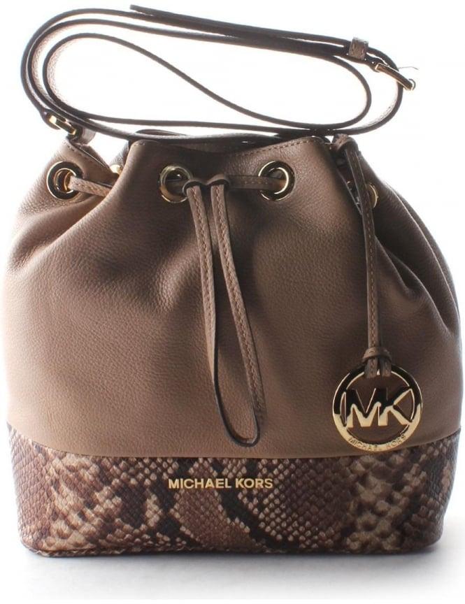 Michael Kors Jules Women s Medium Messenger Bag Dark Khaki 11cda4ebeca81