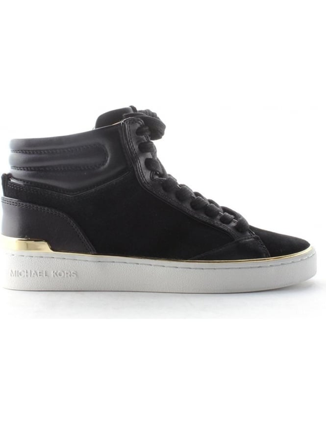 Michael Kors Kyle High Top Women's Trainer Black