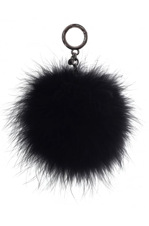 Large Charms Feather Pom Pom