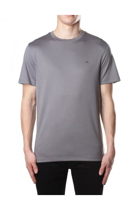 Men's Sleek MK Crew Neck Short Sleeve Tee Storm