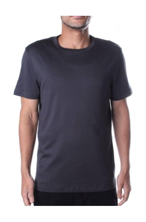 Men's Sleek MK Crew Neck Tee Graphite