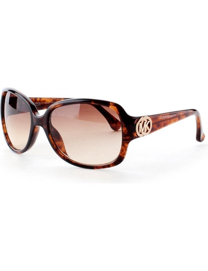 Michael Kors Oval Lens Women's Sunglasses Tortoise