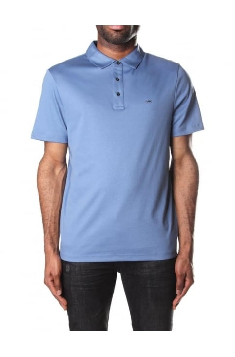 Sleek Men's Short Sleeve Polo Top