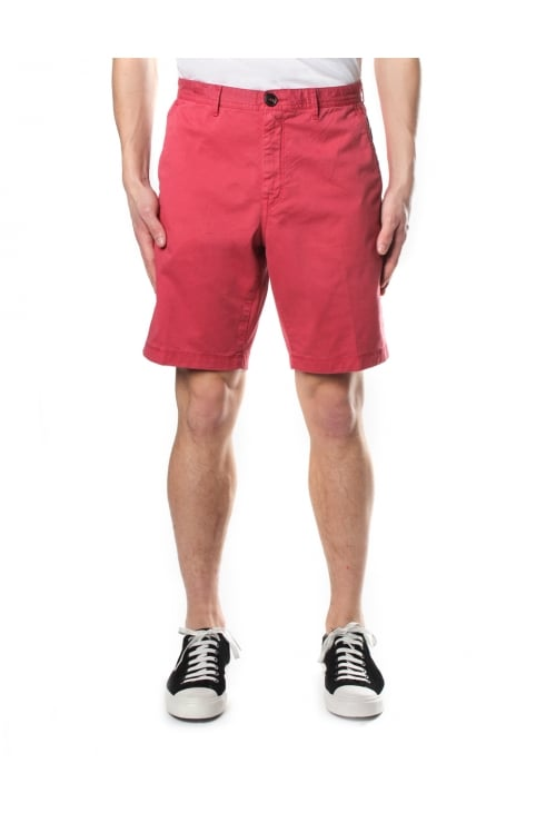 Slim Garment Men's Dye Shorts Nantucket Red