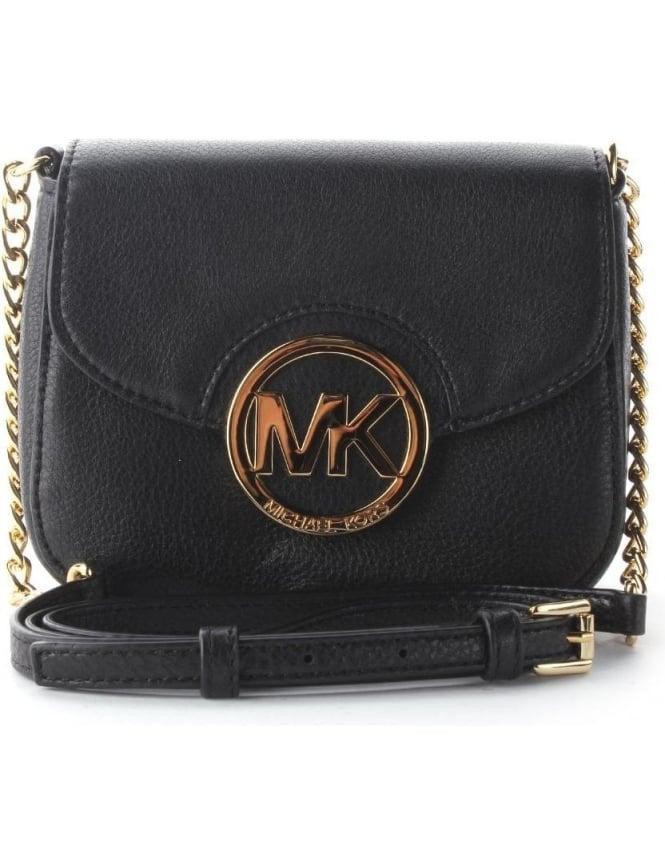 f32be83b622a Michael Kors Small Women's Fulton Crossbody Bag Black