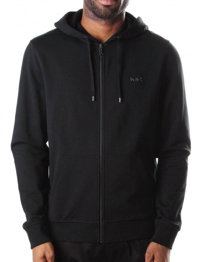 Michael Kors Stretch Fleece Men's Hoodie Black