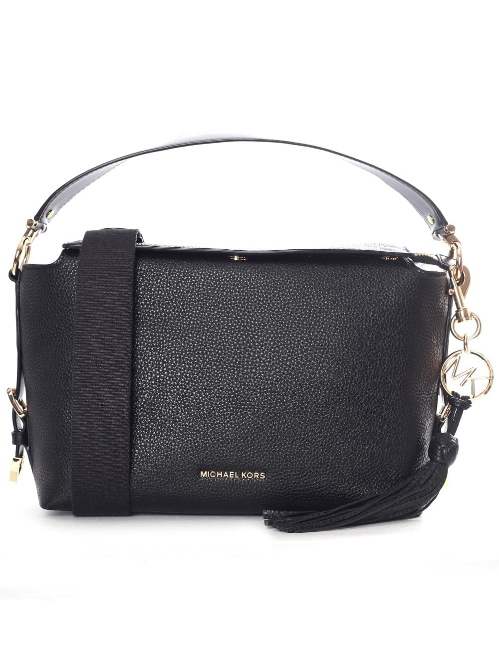 50aaa4d2082f Michael Kors Women's Brooke Medium Satchel Black